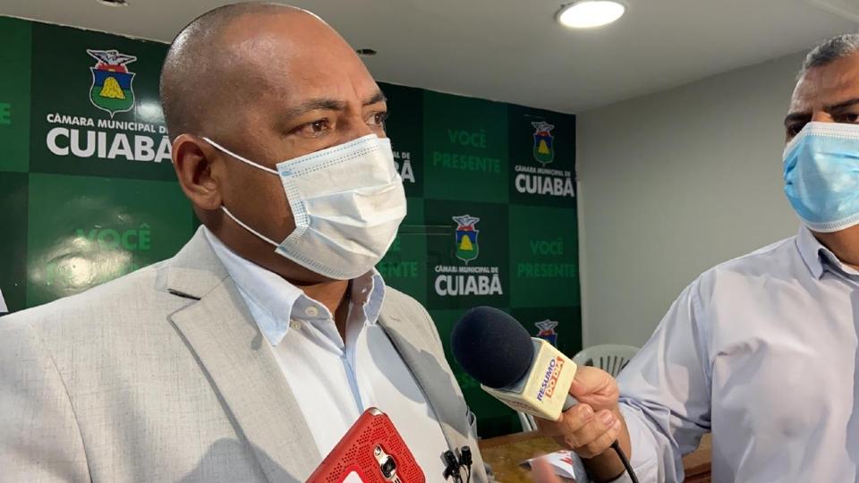 Juca nega que Cuiabá esteja sozinha após Kalil votar por BRT: 'Estamos com o povo'