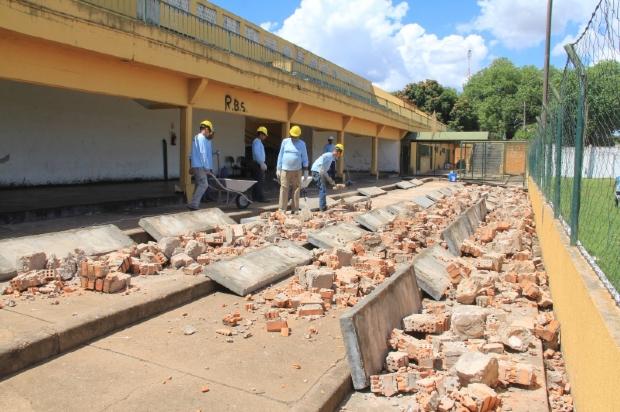 Prefeitura de Cuiabá inicia obras de recuperação do Estádio Dutrinha