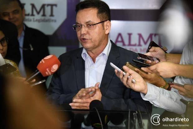 Botelho critica decreto de Taques e diz que medida deverá ser sustada pela Assembleia