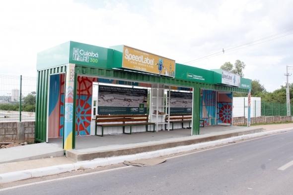 Prefeitura de Cuiabá entrega cinco novos pontos de ônibus em 2019