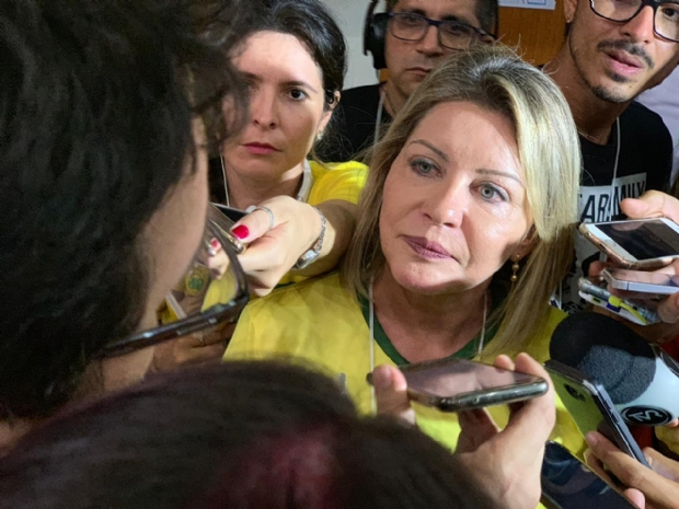 Selma afirma que será uma 'soldada' de Bolsonaro e que suas pautas serão as do presidenciável