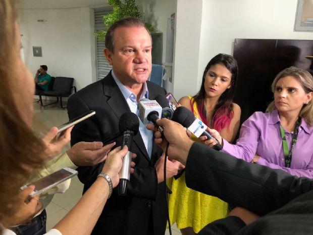 """Fagundes diz que bancada """"perdoou sectarismo de Taques"""" para salvar saúde do Estado"""