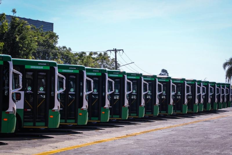 Contando com 144 veículos, nova frota de ônibus será entregue na próxima segunda-feira em Cuiabá