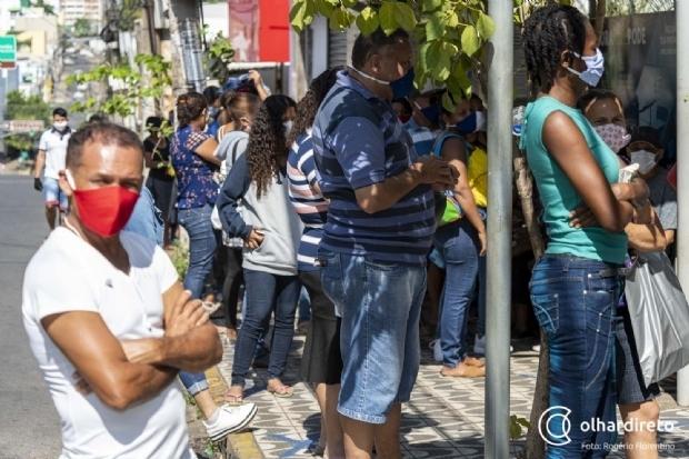 Em nova atualização, Cuiabá volta a integrar lista de municípios com risco alto para contaminação do coronavírus