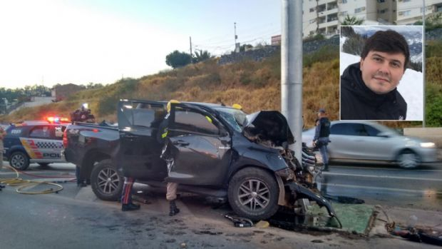 Filho de Oscar Bezerra deixa UTI 17 dias após sofrer grave acidente