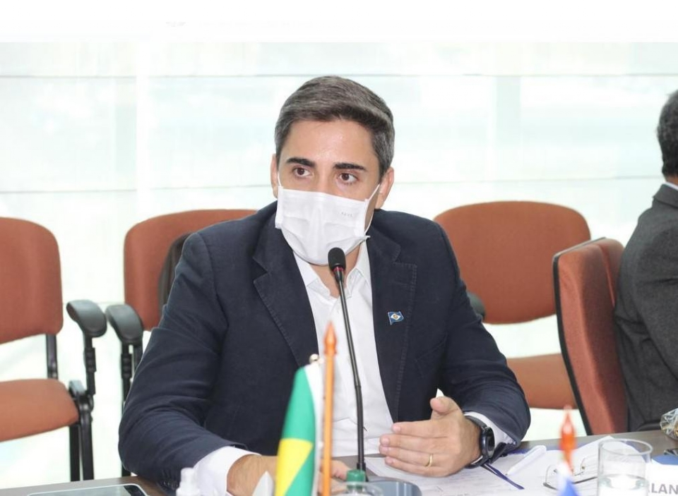 Em Brasíla, Alan Porto levou a posição da Seduc sobre o início das aulas híbridas na rede estadual de Mato Grosso.