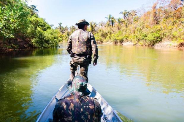 Batalhão Ambiental intensifica fiscalização em rios de Mato Grosso durante Piracema