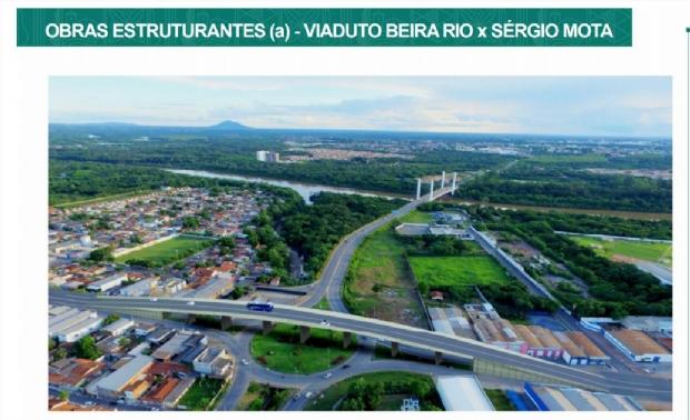 Prefeitura finaliza projetos e consegue aprovar financiamento de dois viadutos em Cuiabá;  fotos