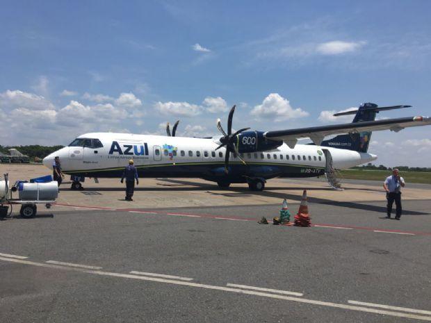 Burocracia atrapalha e Azul estima voo internacional entre Cuiabá e Bolívia só em 2018;  veja quando