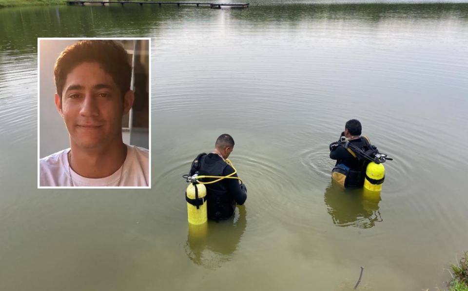 Corpo de jovem de 19 anos que morreu afogado é encontrado submerso em represa