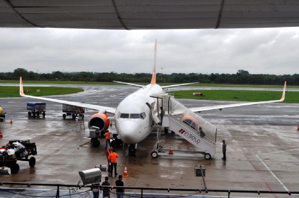 Terceiro apagão em aeroporto de Cuiabá atrasa cinco voos e desvia um para Goiânia