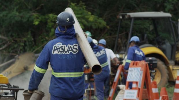 Concessionária fortalece sistemas de distribuição de água em Cuiabá