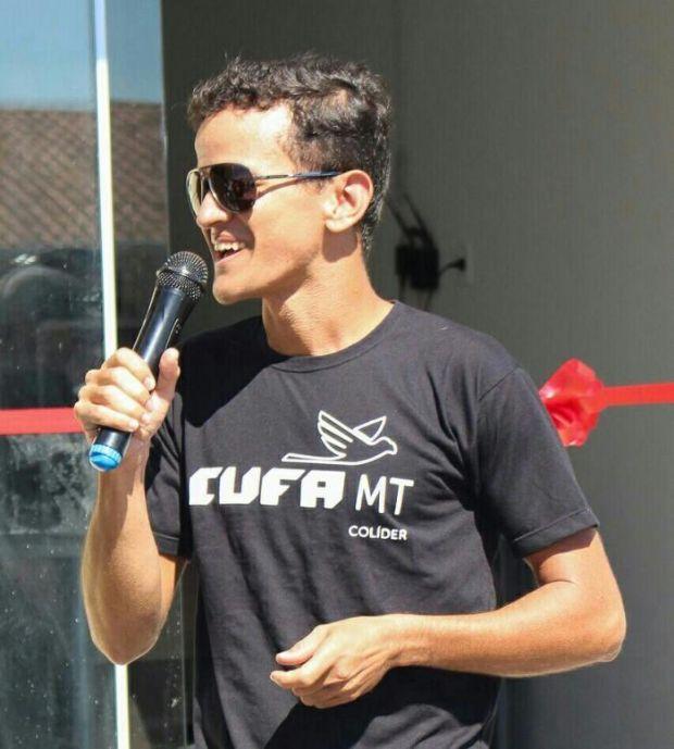 Anderson Zanovello, presidente da  CUFA Colider, vai comandar a CUFA Brasil