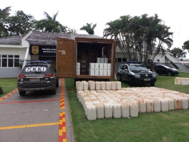 Operação desarticula organização criminosa que roubou R$ 1 milhão em defensivos agrícolas