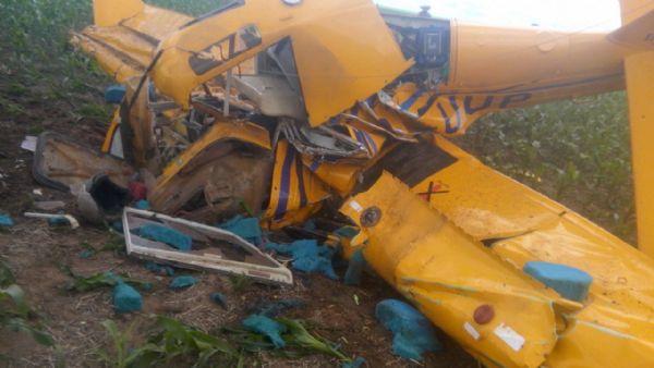 Avião cai em Mato Grosso e mata piloto; Aeronáutica ainda apura causas do acidente