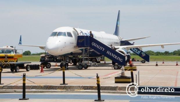 Voo entre Cuiabá e Bolívia empaca mais uma vez por falta de efetivo da Polícia Federal