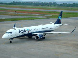 Azul jogou o voo da manhã para o fim da noite