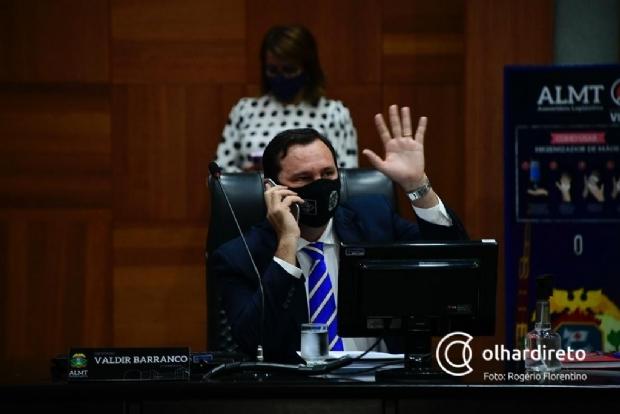 Deputado Valdir Barranco será transferido na madrugada para tratar da Covid-19 em São Paulo