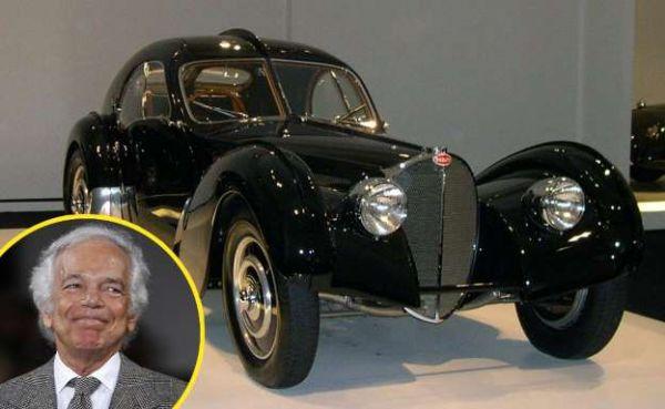 """Conheça a Bugatti de Ralph Lauren — """"o veículo mais belo do mundo"""""""