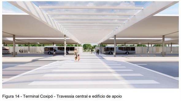 Veja os detalhes e como devem ficar os terminais do BRT em Cuiabá e VG