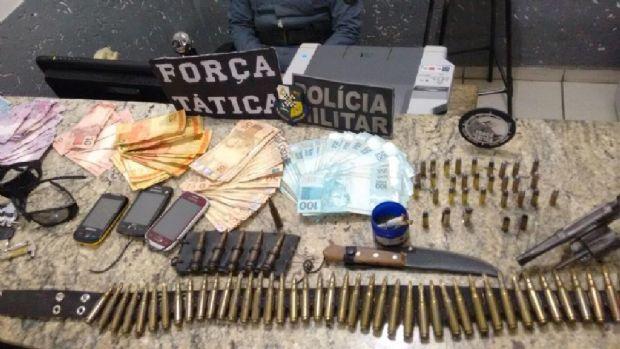 Polícia consegue recuperar R$ 8,5 mil roubados de distribuidora; três presos