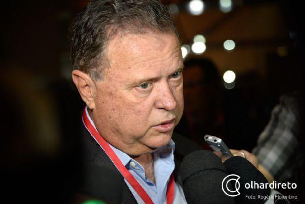 Blairo Maggi pede que egressos do PSB tenham muita coesão antes de decidir por novo partido