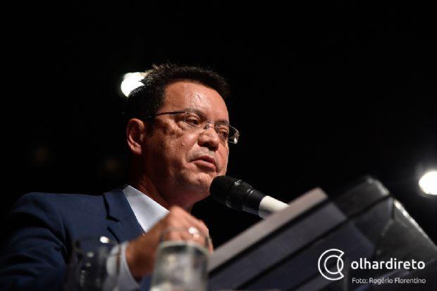 """Botelho diz que não recebeu notificação sobre prisão de Fabris e procuradoria da  AL é quem """"orienta ação jurídica"""""""