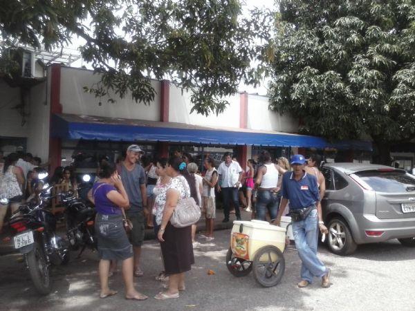 o caos afetou o trânsito local de Barra, Aragarças e Pontal
