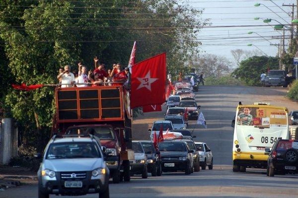 Com passagens em vários bairros, petistas organizam carreata pró-Haddad no sábado