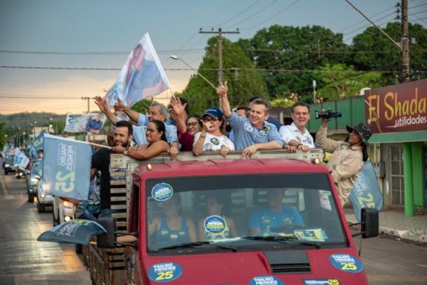 Mauro Mendes garante ter apoio de mais de 100 prefeitos em Mato Grosso