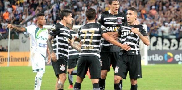 Corinthians domina Luverdense na Arena Pantanal e abre boa vantagem para jogo em SP