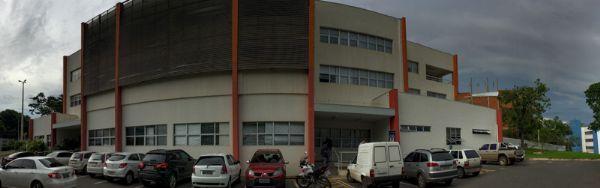 Sede da Delegacia Fazendária, em Cuiabá