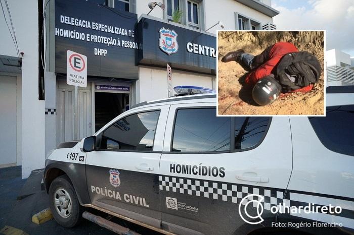 Idoso é morto com tiro nas costas em estrada de terra em Cuiabá