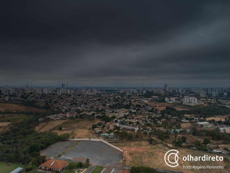 Nova frente fria deve chegar a Mato Grosso em meados de agosto e pode trazer chuva