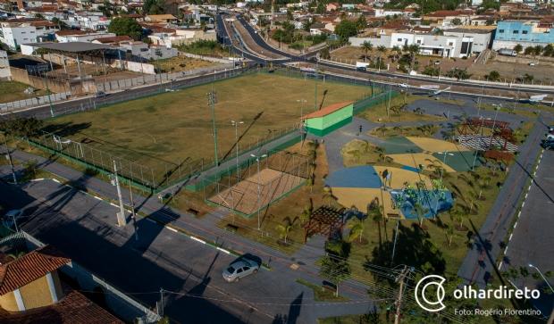 Prefeitura revitaliza espaços públicos e dá opções de lazer e saúde em Cuiabá; 112 obras até final da gestão