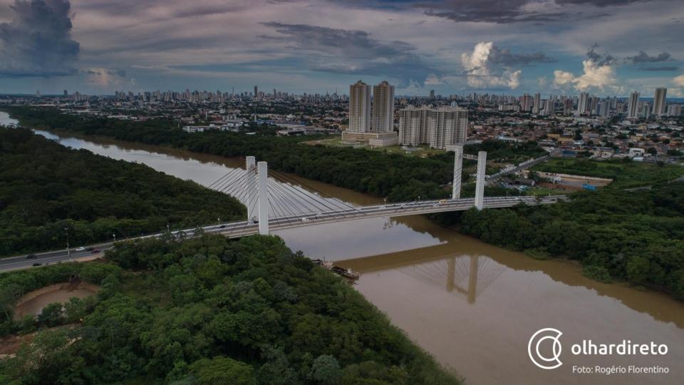 Umidade relativa do ar fica abaixo dos 30% em Cuiabá, mas frente fria é esperada