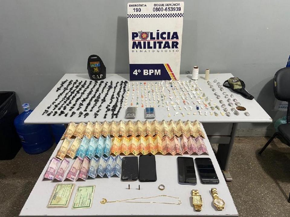 PM prende traficante responsável por abastecer bocas de fumo de Várzea Grande
