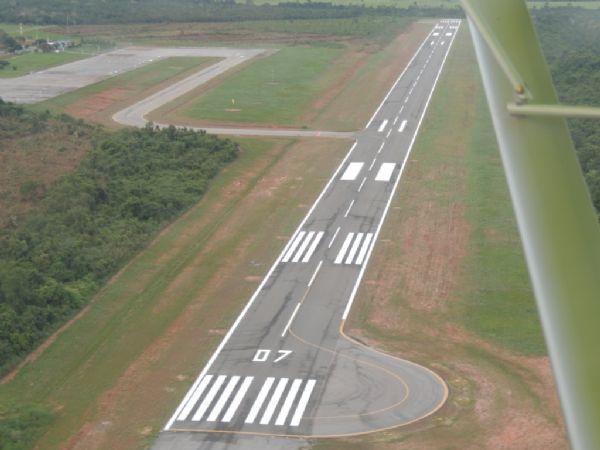 Aeroporto está sendo modernizado