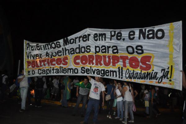 13 mil confirmam presença em protesto de hoje; organizadores esperam mais de 30 mil