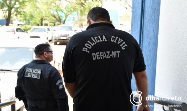 Defaz cumpre 16 mandados de prisão contra empresários, contadores e corretores em operação;  vídeo