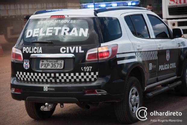 Com Estado em crise, Deletran fica com apenas uma viatura para atender Grande Cuiabá