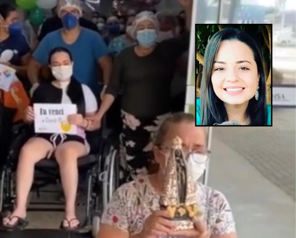 Grávida passa por cesária de emergência e morre quase um mês após mãe pagar promessa de joelhos por cura da Covid-19