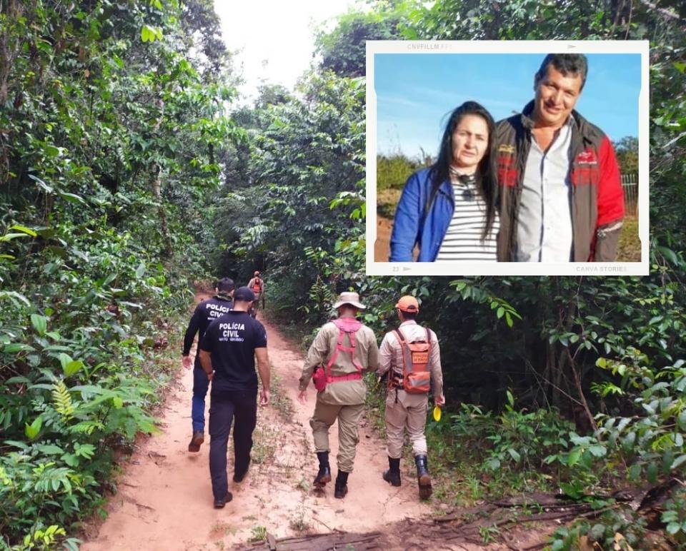 Encontrados carbonizados corpos de casal desaparecido há cinco dias