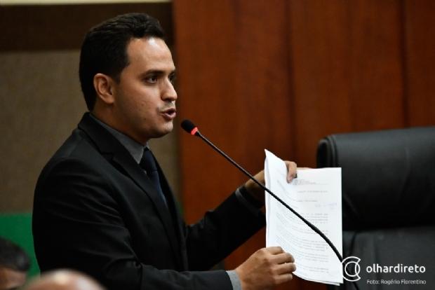Após suspensão de Malheiros, Diego Guimarães se lança candidato a presidência da Câmara de Cuiabá