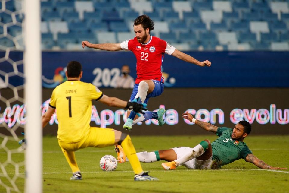 Chile esmaga no primeiro tempo, mas sofre para conseguir vencer a Bolívia na Arena Pantanal;  veja fotos e vídeos