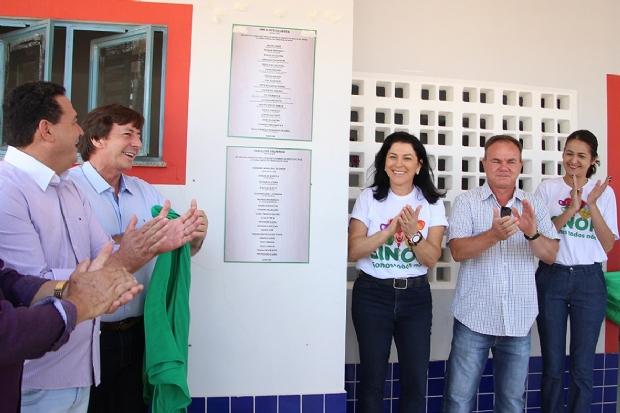 Sinop recebe unidade de ensino e homenageia professora pioneira do município