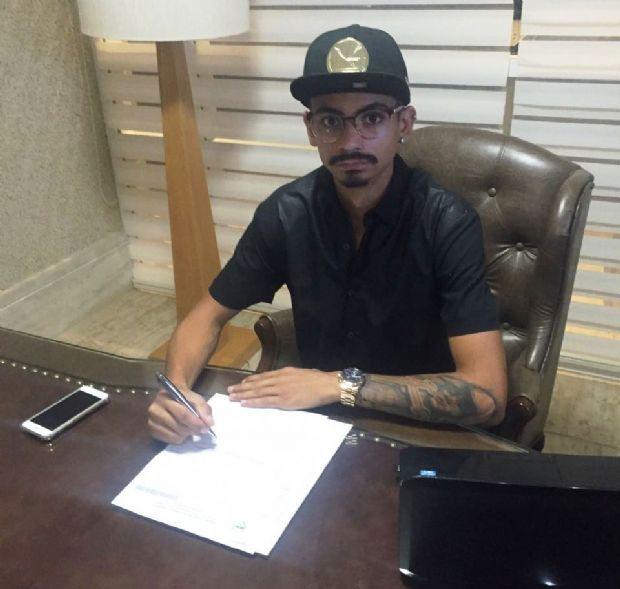 Éder Moraes Júnior parte para  a sua primeira experiência internacional