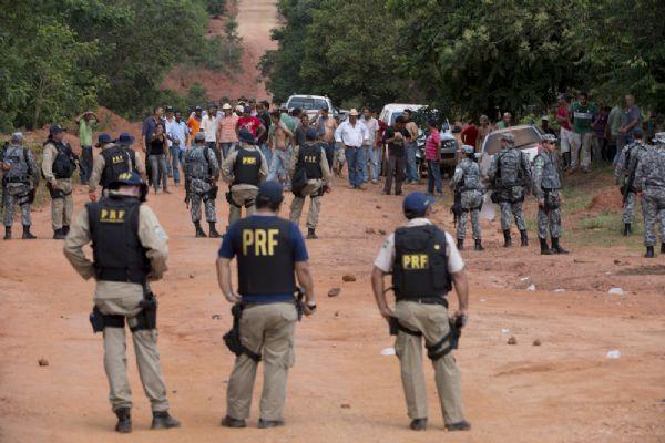 PF vai indiciar por seis  crimes responsáveis por retorno à Marawaitséde; prisões são avaliadas