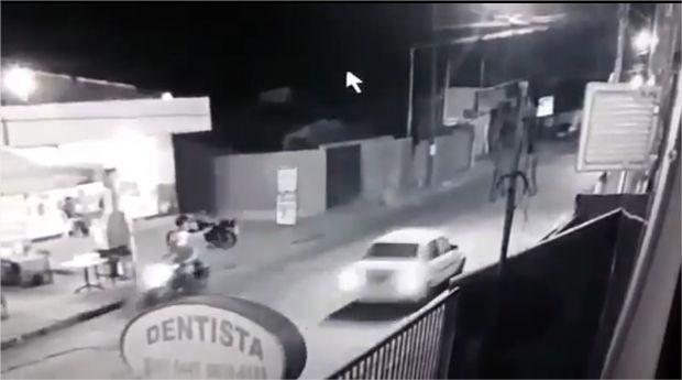 Circuito de segurança registra execução de jovem de 18 anos em Cuiabá