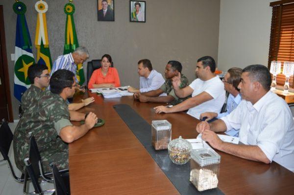 Os militares solicitaram uma área na região central para construir uma sede administrativa